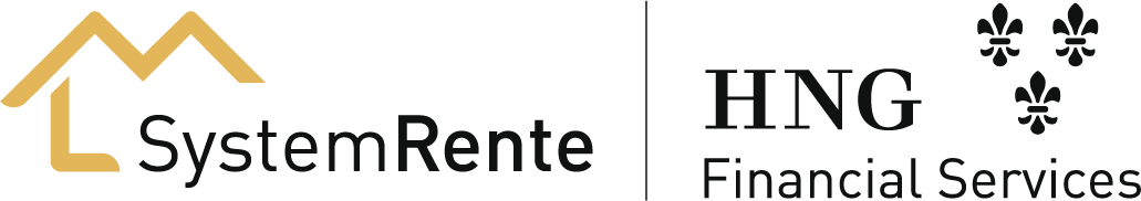 Logo SystemRente und HNG Financial Services